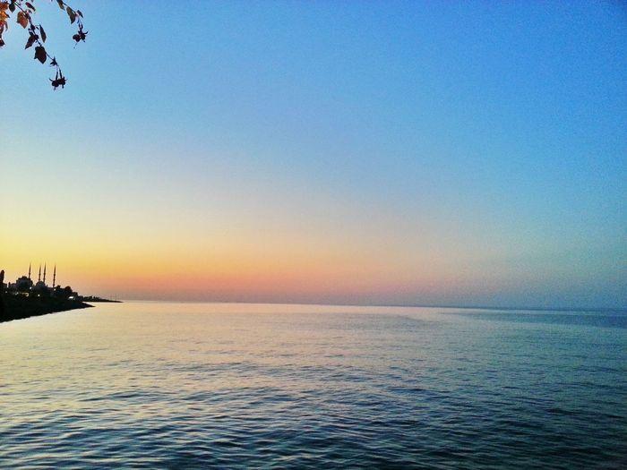 Sunset Akçaabatta Gün Batımı.... Sahil