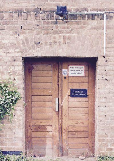 The Secret Spaces Built Structure Architecture Entrance No People Door Day Forbidden Forbidden Places