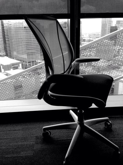 Office Swivel Chair Chair Office Chair Office View Office Hours Office Supply Officelife Office Life Officeview Office Space Window View Windowporn Window Display Windowview Eyeem Market EyeEm Gallery Eyeem Philippines Philippines Eyeem Photography Black And White Black And White Photography Black And White Collection  Black And White Portrait Black & White BonifacioGlobalCity