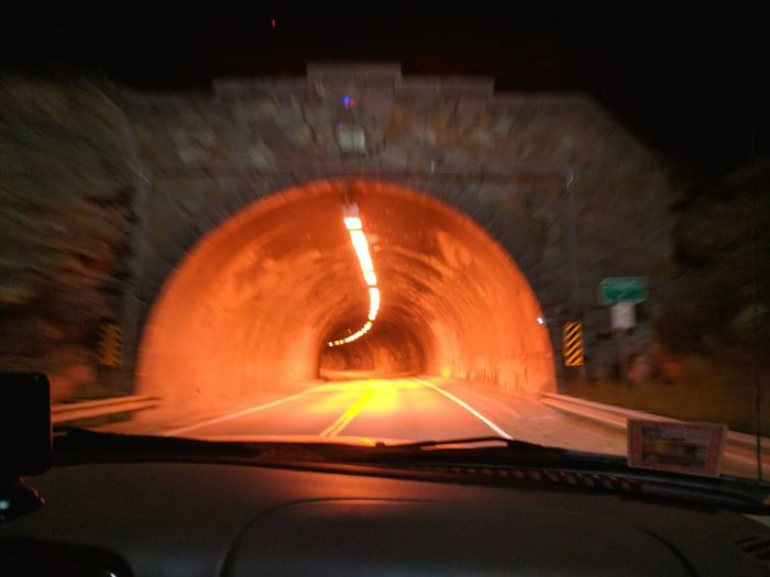 Colorado Into The Tunnel Illuminated Nightphotography Night Falls Followme Google Pixel XL Illuminated