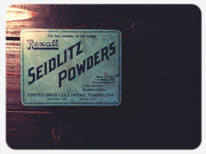 SEIDLITZ POWDERS