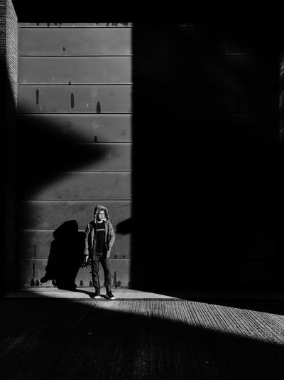Into the light Shadow Sunlight Nature Day Wall - Building Feature Real People The Street Photographer - 2018 EyeEm Awards