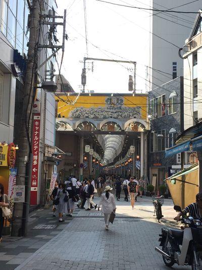中洲川端商店街 中洲川端 Japanese  Japan Retro