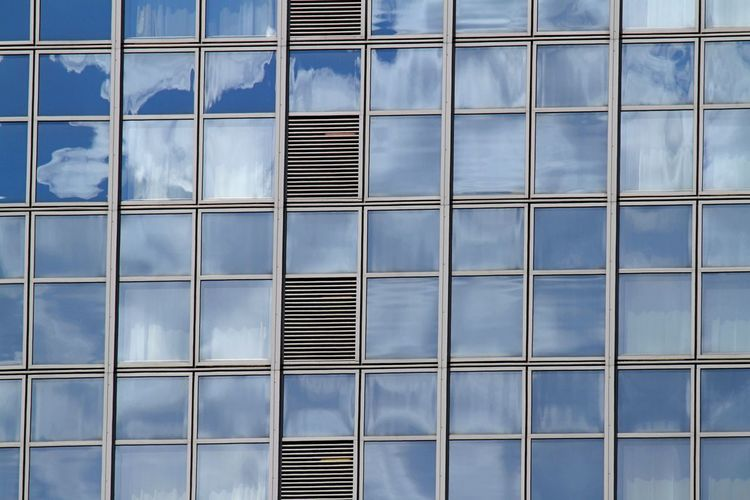 Architecture Backgrounds Building Exterior Built Structure Close-up Day Façade Full Frame No People Outdoors Pattern Reflections Window