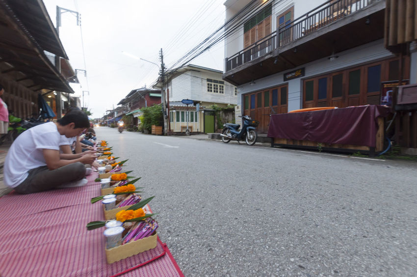 Architecture Building Exterior Built Structure Chiang Khan City Culture House Houses Houses And Windows Monochrome Old Old House Old Town Slow Life Thailnad Traveling Waiting