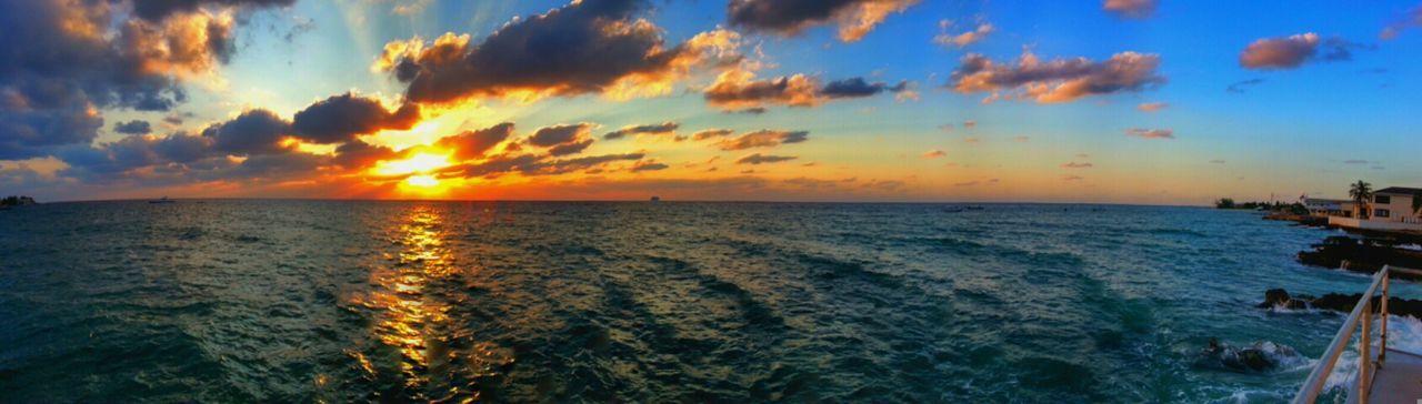 Sun Sunset Sky Enjoying The Sun Taking Photos Panorama Clouds And Sky Cloudporn Skyporn Sky_collection
