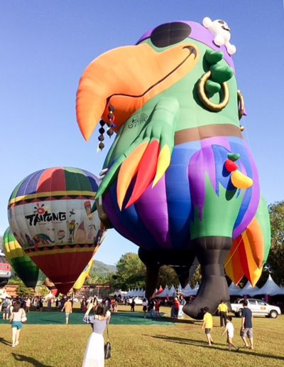 Penang Polo Ground Multi Colored Large Group Of People Leisure Activity Real People Day Clear Sky Colour Your Horizn Hot Air Balloon Outdoors Ballooning Festival Fun Sky Crowd People
