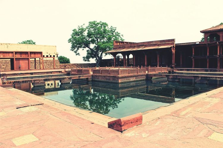Taking Photos Agra Fatehpursikri Monuments Beauty Travel India Water Reflections Akbar Fort Mugal