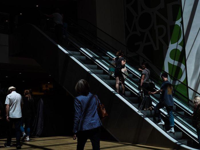 Escalator light