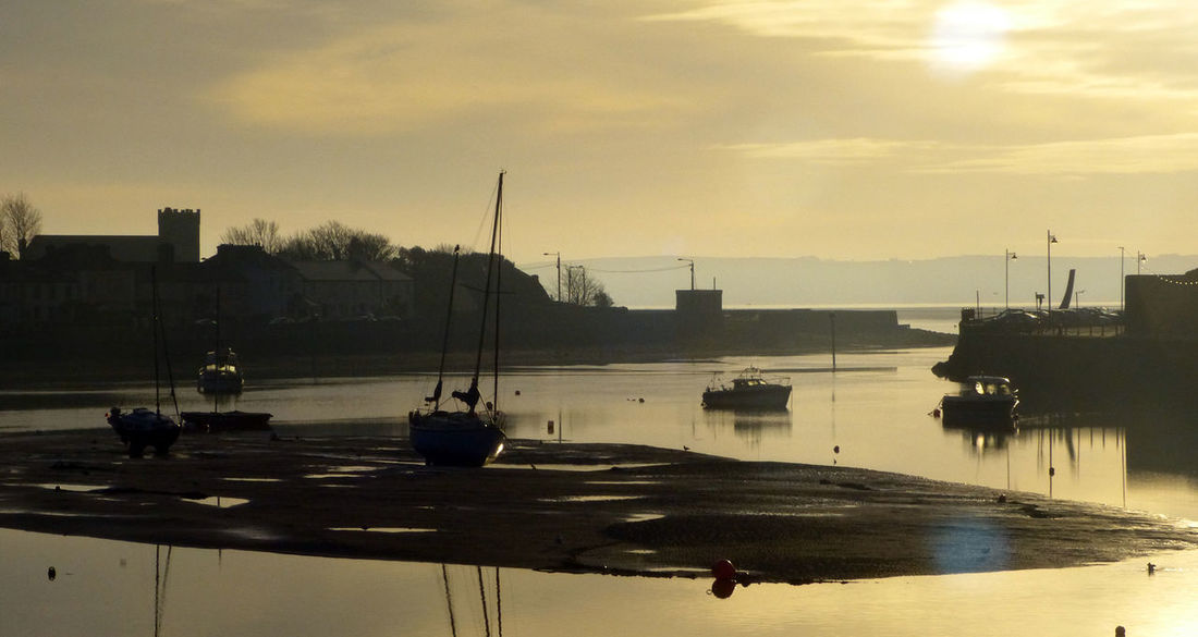 Dungarvan harbour, early morning Beauty In Nature Dungarvan Ireland Landscapes Ireland🍀 Nautical Vessel Outdoors Sea Sky Water Waterford Waterfront
