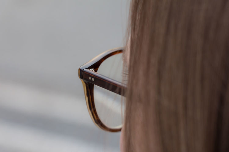 Blond Hair Blurred Background Close-up Eyeglasses  Frame Glass Frame Glasses Hair Headshot Hipster One Person One Woman Only People Rear View Tom Ford Women Garrett Leight EyeEmNewHere