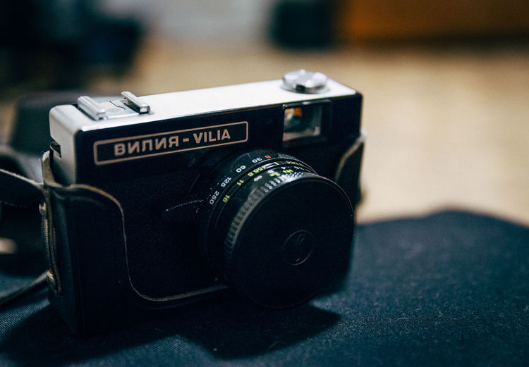 Camera - Photographic Equipment Close-up Focus On Foreground No People Old-fashioned Photographic Equipment Photography Themes Technology Vilia Vintage Vintage Photo Camera Film Photography film photo camera