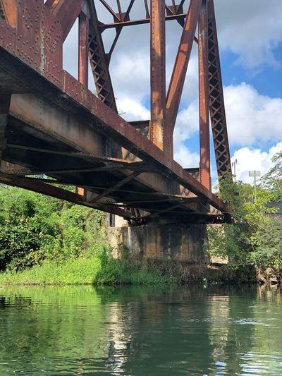 Augustacanal AugustaGeorgia Built Structure Water Bridge Architecture Sky Bridge - Man Made Structure River