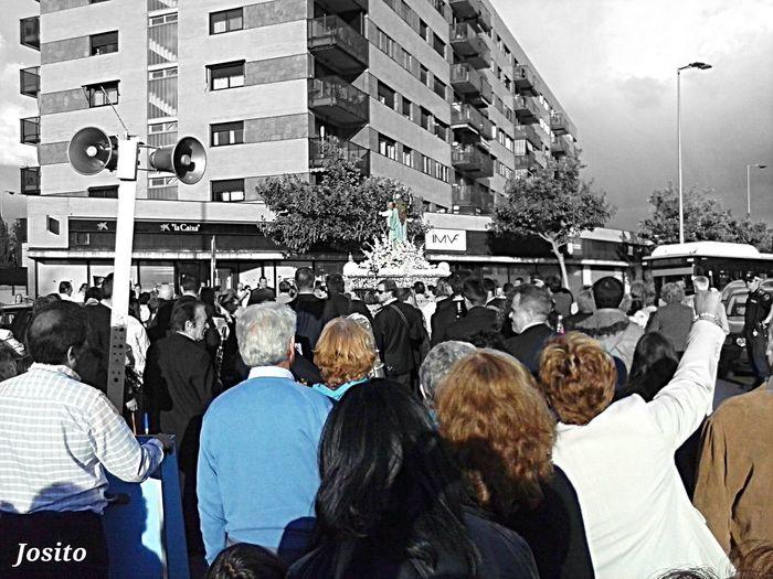 Maria Auxiliadora Barrio El Naranjo Fuenlabrada Color Splash