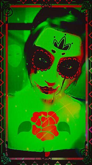 Green Girl - Artistic Expression Shadows ArtWork Shadows & Lights Surrealism And Fantasy Art Trippy Art Creative Design Vivid Neon Acid Trip Graphic Design Art, Drawing, Creativity Creepy Surrealist Art Grunge GrungeStyle Colorsplash Green MYArtwork❤ My Unique Style Modern Art Creative Light And Shadow Darkart Twilight Monster