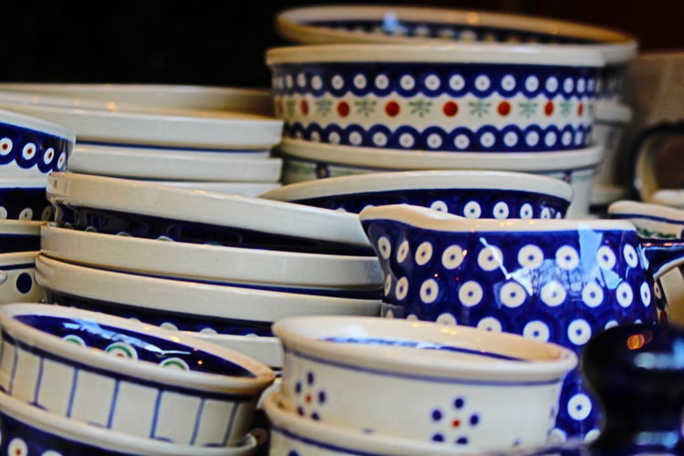 Detail Shot Of Bowls