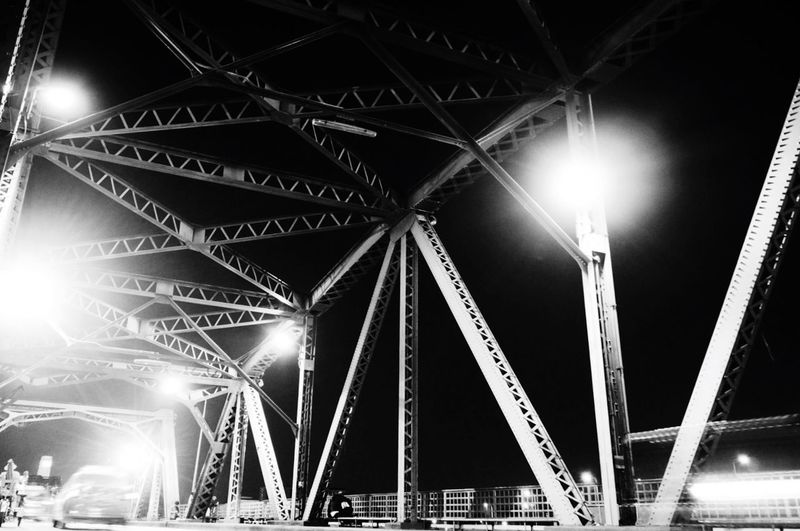 Geometric Shapes bridge Bridge Bangkok Thailand