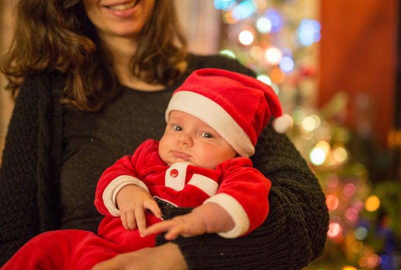 3 mois déjà Mon Bebe Jules Père Noël
