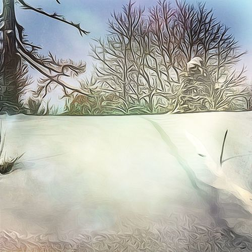 Stairs to nowhere. No People Nature Silence Fine Art Photography IPhone Only IPhoneography Backgrounds Atmospheric Mood Landscape Multi Colored Snow Covered Winter Cold Temperature Nature Favorite Places Country Road