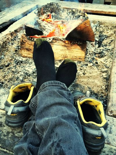 Low Section Human Leg One Person Real People EyeEm Best Shots EyeEm Gallery Shoe Jeans Human Body Part Day Standing Outdoors Leisure Activity Lifestyles Close-up One Man Only People Adult Bonfire 🔥 Fires