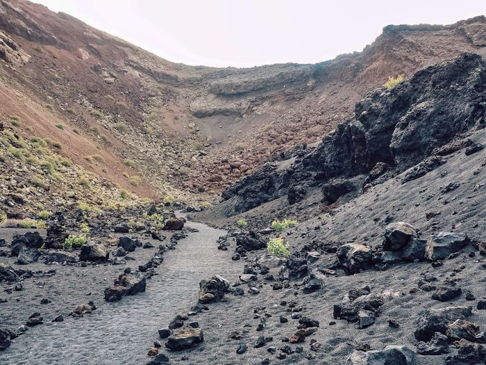 Into the volcan
