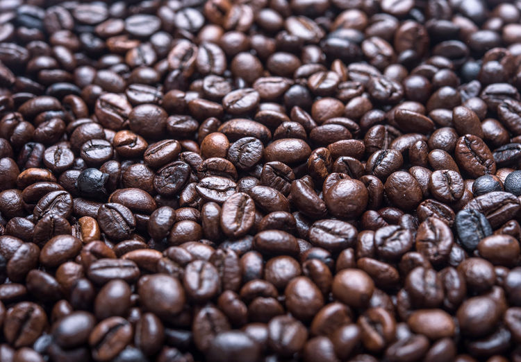Abundance Backgrounds Brown Cappuccino Close-up Coffee - Drink Coffee Bean Coffee Cup Day Food Food And Drink Freshness Full Frame Group Of Objects Indoors  Mocha Nature No People Raw Coffee Bean Roasted Roasted Coffee Bean Scented Selective Focus