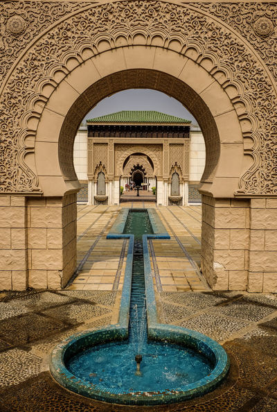 Moroccan Pavilion in Putrajaya, Malaysia. Architectural Detail AstakaMorocco Clay Design Islam Islamic Art Islamicalligraphy Islamicarchitecture Malaysia Morocco Style Pavilion Putrajaya, Malaysia Wall - Building Feature Wall Art
