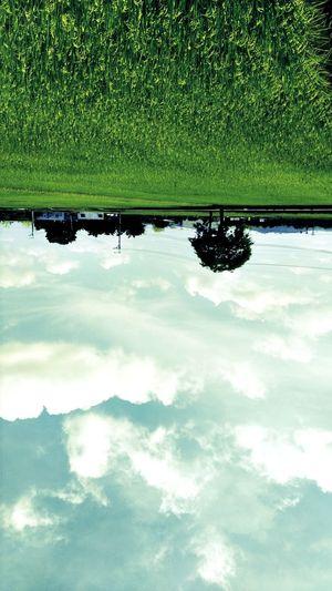 角度不同,感受也不同 天空像水一樣 樸實