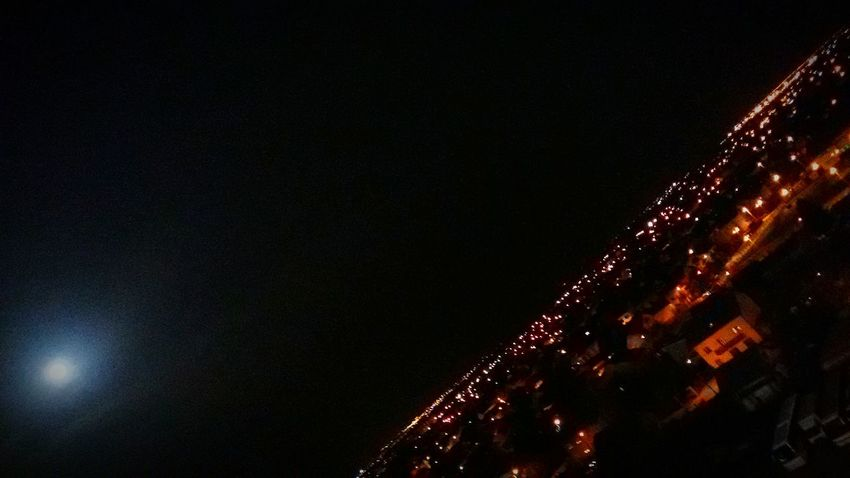 Nightwatch Cityguardian Moon Moonlight Zagreb Croatia Dubrava