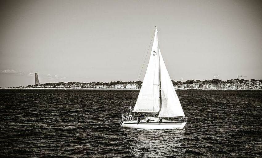 Segelboot in