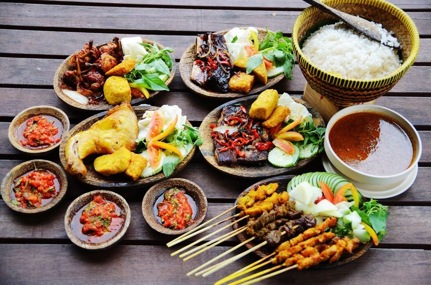 Satay Food Satay With Bamboo Stick Indulgence Meal Malaysia Food Malay Food