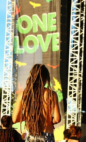 One Love (Reggae Sun Ska 2016, Bordeaux FRANCE) One Love Reggae Reggae Festival Dreadlocks Vertical Outdoors Lifestyles Music Sun One Woman Only Vertical Only Women One Young Woman Only Brown Hair Person One Person City Young Adult Text Young Women People Adult Building Exterior Outdoors Lifestyles