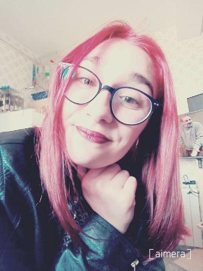 Relaxing Lipstick Tumblrgirl Glasses Make Up Selfie Fashion Fashiongirl  Redhair Tumblr Girltumblr Pelirroja Enllamas