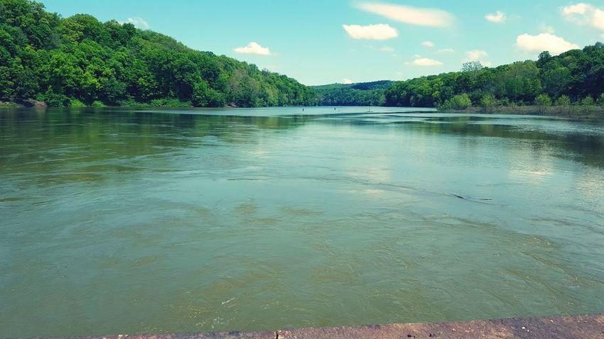 WPT Biking Spring WPT Trail Rail Trail Pennsylvania River Water View Bridge Bridge View High Water High Waters  Flooding The Great Outdoors - 2016 EyeEm Awards