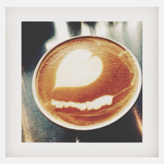 Big hot latte