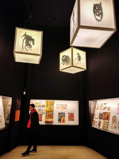 明かりと影 Exhibition Art Light And Shadow Light Play Manga Artistic Mangasia