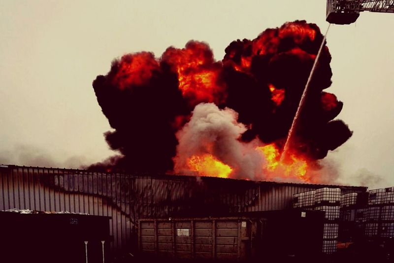 Explosion feu Industrie boum First Eyeem Photo