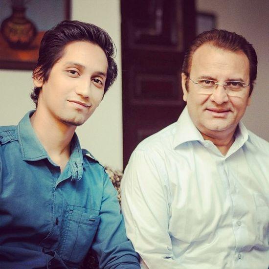 With Behroze Sabzwari on set of upcoming serial Bhool Humtv actor celeb