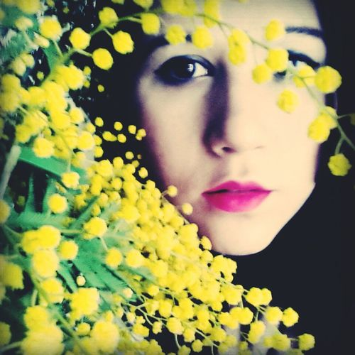 Selfportrait RePicture Femininity Mimose