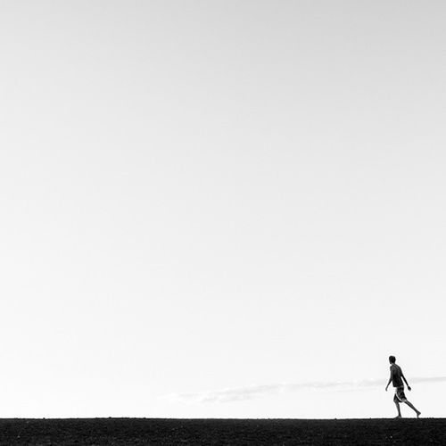 To wander. To be human. DaleTidyPhoto Humanlandscape LineAndForm Blackandwhite Wander Wanderlust CerroNegro Nicaragua