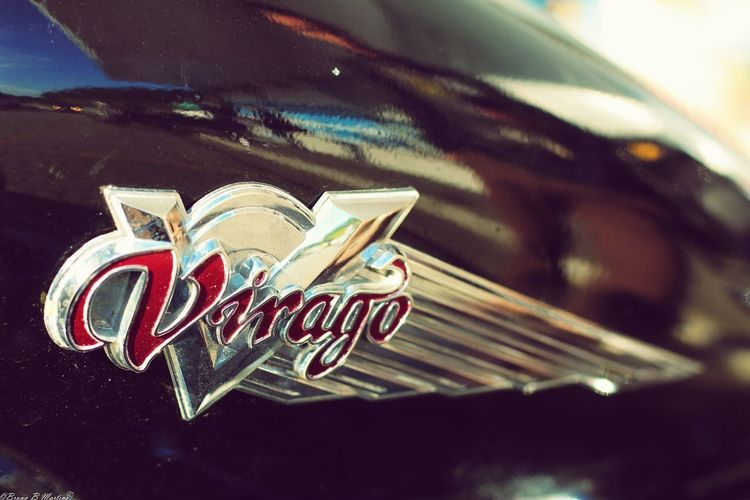 Virago Motorcycle Custom Motorcycle Road Wealth Close-up