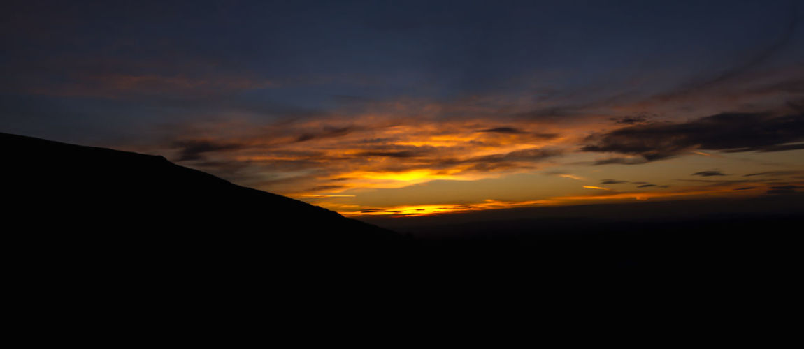 Vivid sunset Malvern Hills Sunset_collection Beauty In Nature Cloud - Sky Dramatic Sky Environment Idyllic Landscape Majestic Mountain Nature No People Non-urban Scene Orange Color Outdoors Scenics - Nature Silhouette Sky Sunset Tranquil Scene Tranquility