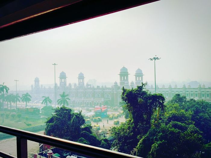 INDIAN RAILWAYS Urban Skyline Architecture Built Structure City Building Exterior Greenhouse Day No People Cityscape Fog Lucknow👌City Indian Peace And Love ✌❤ Beauty Live For The Story Architectural Column Cityscape Development Travel Destinations Politics And Government India Railing Steam Engine Full Frame Art Is Everywhere