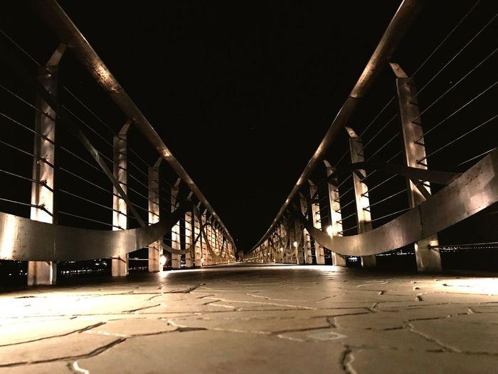 Pier Night Light No People
