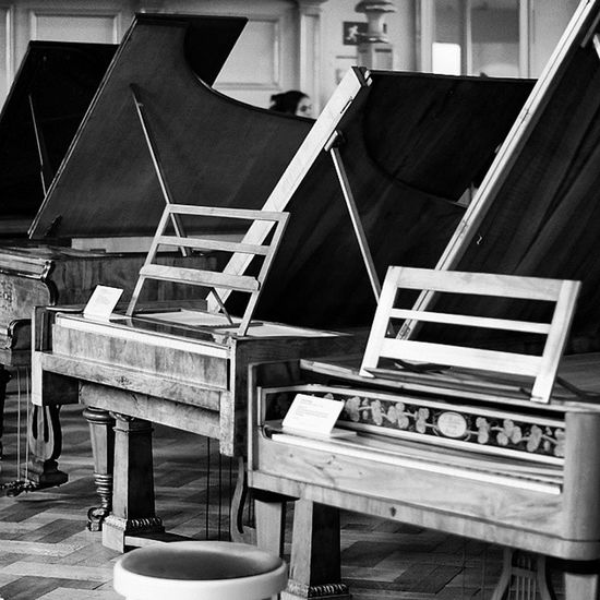 Beautiful Pianos . Classical Music . At the Musical instruments MusicalInstruments exhibition at the DeutchesMuseum museum. Taken by MY SonyAlpha Dslr A57 . münchen Munich bayarn Bavaria Germany Deutschland. متحف قسم موسيقى كلاسيك بيانو ميونخ المانيا بافاريا