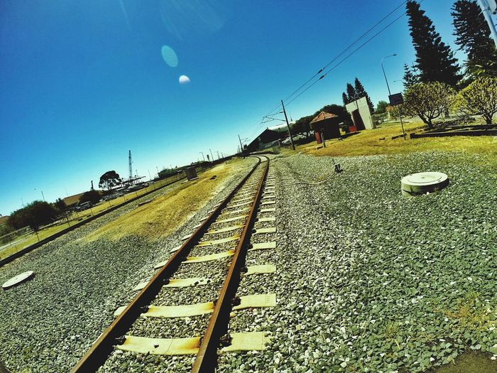 Most men who have really lived have had, in some share, their great adventure. This railway is mine. - James J. Hill The EyeEm Facebook Cover Challenge Railway Freemantle Australia