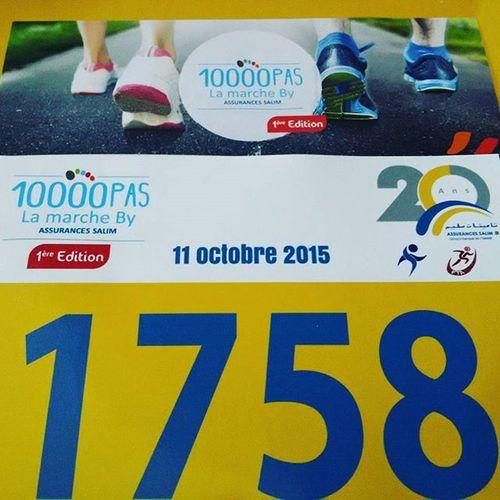Tunisia IgersTunisia Sport 1758 Number Walk 10000pas انه رقم جميل :) امشي ... اجري ... ثم طير و جنح :)