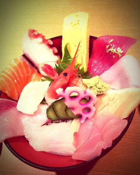 Enjoying Life Japanese Food Sushi! Ishikawa-ken Kaisendon Tokyo,Japan First Eyeem Photo