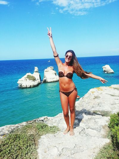 Puglia Salento Portrait Girl That's Me Italiangirl Holiday Sea Popular Photos