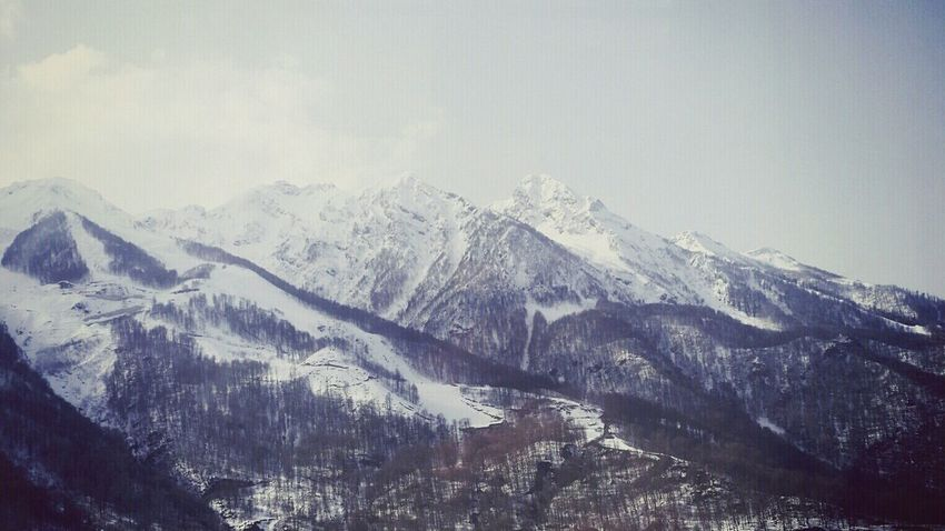 Sochi Mountain Mountains Роза хутор